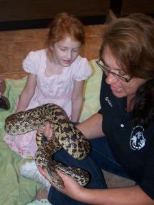 1 gopher snake
