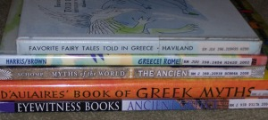 greek myth books