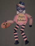 halloween cat paper doll